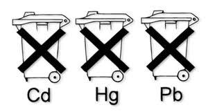 电池Pb Hg符号