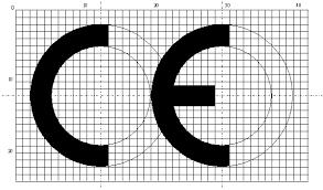 欧盟标准尺寸CE认证标志